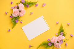 Love or valentine`s day concept. Spring or summer background.  Stock Photo