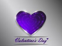 Love. Valentine`s Day. Declaration of love. Love. Valentine`s Day. Color glowing heart. Declaration of love Royalty Free Stock Image