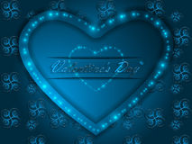 Love. Valentine`s Day. Declaration of love. Love. Valentine`s Day. Color glowing heart. Declaration of love Stock Photos