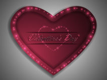 Love. Valentine`s Day. Declaration of love. Royalty Free Stock Photo