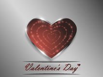 Love. Valentine`s Day. Declaration of love. Stock Photography