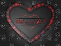 Love. Valentine`s Day. Declaration of love. Love. Valentine`s Day. Color glowing heart. Declaration of love Stock Photo