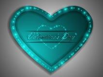 Love. Valentine`s Day. Declaration of love. Love. Valentine`s Day. Color glowing heart. Declaration of love Royalty Free Stock Photos