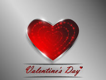 Love. Valentine`s Day. Declaration of love. Love. Valentine`s Day. Color glowing heart. Declaration of love Stock Images