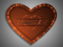 Love. Valentine`s Day. Declaration of love. Love. Valentine`s Day. Color glowing heart. Declaration of love Royalty Free Stock Photography