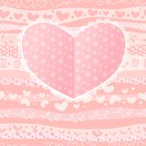 Love Valentine's Day Wedding Heart Card Royalty Free Stock Photos