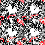 Love Valentine seamless pattern Royalty Free Stock Photography