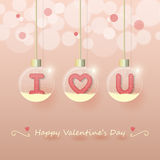 Love valentines day background Royalty Free Stock Photos