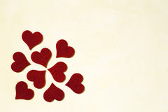 Love and Valentines day background Royalty Free Stock Image