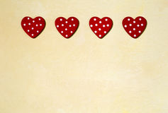 Love and Valentines day background Stock Photo