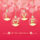 Love valentines day background Royalty Free Stock Images