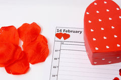 Love on Valentines day Royalty Free Stock Image