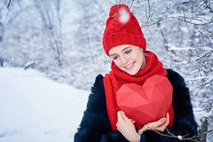 Love and valentines day concept Royalty Free Stock Photo