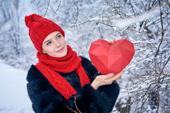 Love and valentines day concept Stock Photography
