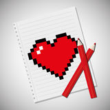 Love and valentines day Stock Image