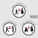 Love and Valentines icon. Royalty Free Stock Photos