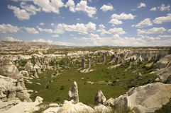 Love valley in capadocia Royalty Free Stock Photos
