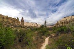 Love valley in Cappadocia. Stock Photos
