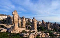 Love valley in Cappadocia, Turkey Royalty Free Stock Photos