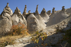 Love valley in Cappadocia Turkey Royalty Free Stock Photos