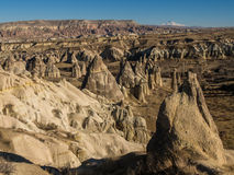Love Valley in Cappadocia, Turkey Royalty Free Stock Photos