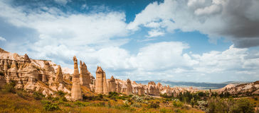 Love valley Goreme Cappadocia Turkey summertime Royalty Free Stock Photography