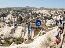 Love valley in Goreme national park. Royalty Free Stock Images