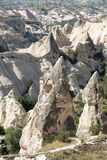 Love valley in Goreme national park Stock Photo