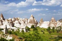 Love valley in Goreme national park. Cappadocia Stock Image