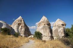 Love Valley near the Göreme, Cappadocia, Turkey Stock Photo
