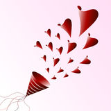 Love vector abstract Stock Photography