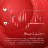 Love vector diagram. Stock Photography