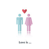 Love is Stock Image
