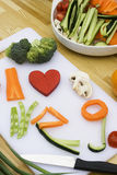 Love Vegetables Stock Images