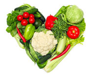 Love vegetables stock photo
