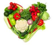 Love vegetables Stock Photos