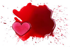 Love violent Royalty Free Stock Images