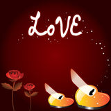 Love Wallpaper Stock Photography