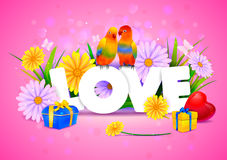 Love wallpaper background Stock Photos