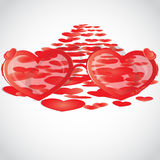 Love way from St.Valentine Royalty Free Stock Photography