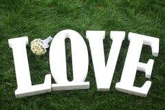 Love wedding flowers Royalty Free Stock Photo