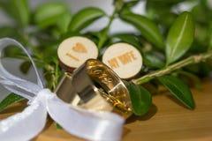 Love and wedding ring. The Love and wedding ring stock photos