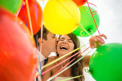 Love, wedding, summer, dating and people concept - Stock Image
