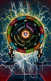 The love Wheel Stock Photo