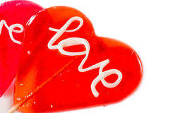 Love on white Royalty Free Stock Images
