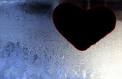 Love will melt the heart royalty free stock images