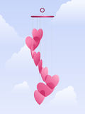 Love Wind Chimes Stock Photos