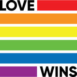 LOVE WINS. This is a set of colored flat icons related to JFILES & DOCUMENTS Stock Photography