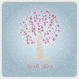 Love in winter Royalty Free Stock Images