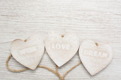 Love, wish, dream Royalty Free Stock Image